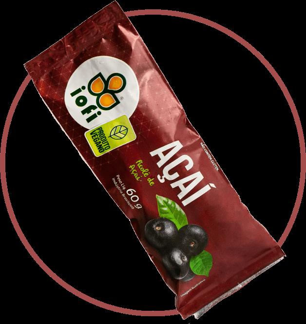 Picolé Açaí Vegano