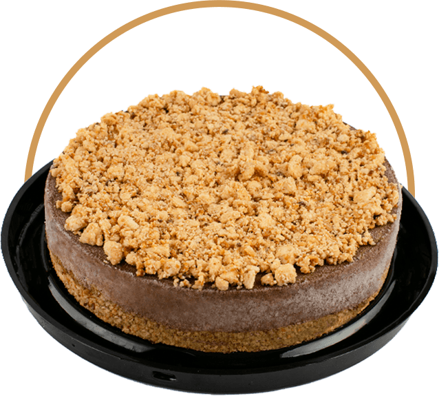 Torta De Gianduia Vegana